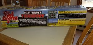 NEW IN BOX KID AGAINS QUARTERBACK TOUCHDOWN 4 GAMES IN 1. PICK UP MIDDLEBORO ONLY for Sale in Middleborough, MA