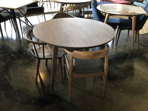 Solid Wood Modern Dining Table Brand New On Sale for Sale in Houston, TX