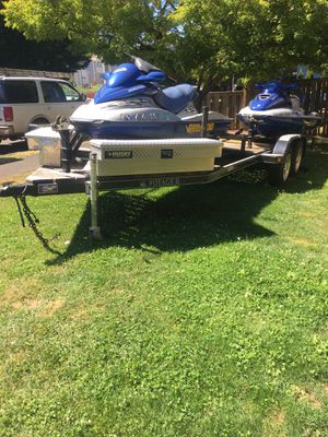 21x8 Trailer for 3 Jet skis for Sale in Beaverton, OR