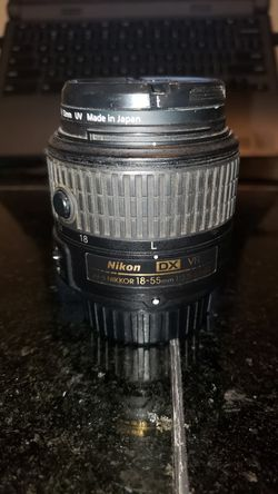 Nikon AF - S DX NIKKOR 18 - 55mm f/3.5 - 5.6G for Sale in Yakima,  WA