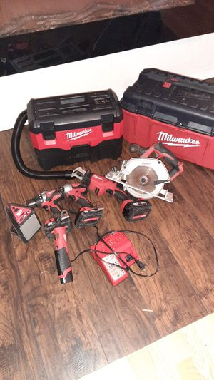Milwaukee Tool Set and more for Sale in Cypress, TX
