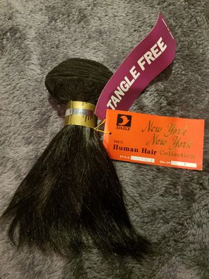 HUMAN HAIR BINDLES $25 EA (HAVE ONLY A FEW) for Sale in Rosemead, CA