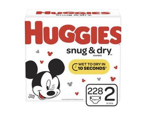 Huggies Diaper Size 2 for Sale in Baldwin, NY