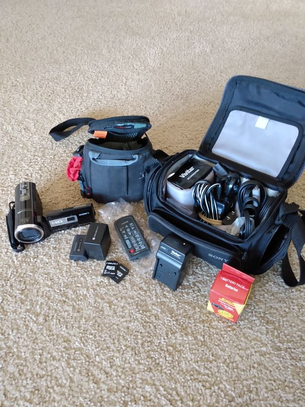 Sony Handycam and accessories