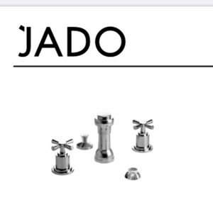 Jado 3-Hole Bidet with Vacuum Breaker Cross Handle for Sale in Willoughby, OH