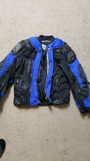 Like new, Joe rocket protection jacket w liner; like new Med for Sale in Glendale, AZ