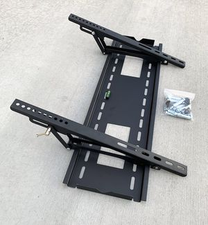 "New $25 Large TV Wall Mount 50""-80"" Slim Television Bracket Tilt Up/Down, Max 165lbs for Sale in Whittier, CA"