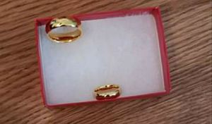 Gold plated wedding bands for Sale in Rockville, MD
