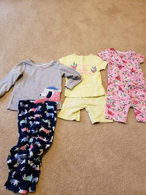 4T girl's pajama sets (lot of 3) for Sale in Frederick, MD