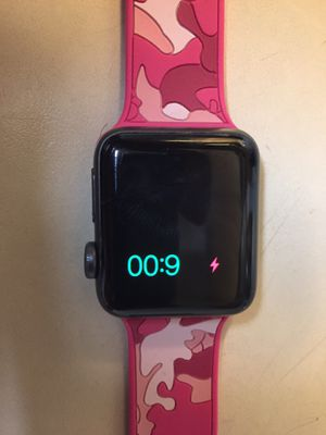 Used apple iPhone watch very good condition, no scratches. Only problem I lost charger but works excellent for Sale in Washington, DC