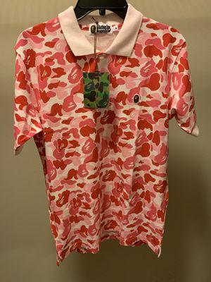 Bape abc polo shirt for Sale in Monroe, WA