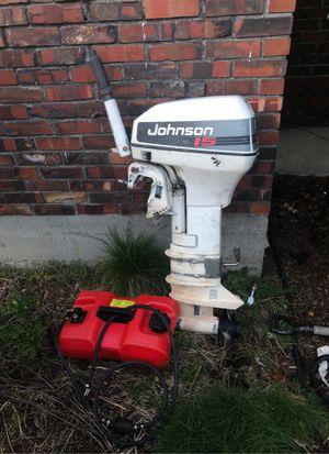 Johnson Motor for Sale for Sale in Everett, WA