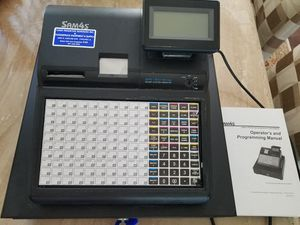 Electronic cash register SAM4s Flat Keyboard thermal printer for Sale in Deer Park, IL