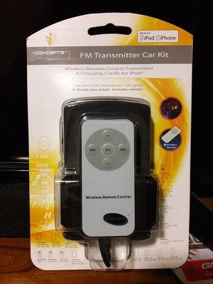 Ipod /Iphone FM transmitter Kit! for Sale in Sacramento, CA