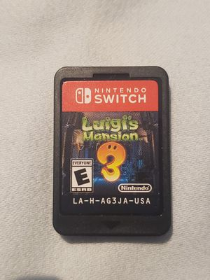 Luigi's Mansion 3 for the Nintendo switch for Sale in Rialto, CA