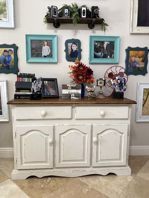 Antique Cabinet Real Wood for Sale in Chandler, AZ