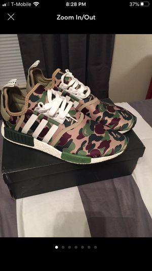 Bape nmd r1 size 10 for Sale in Albany, NY