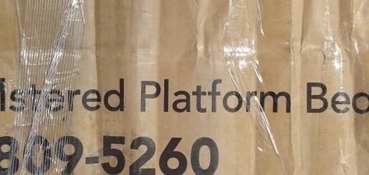 King Size Bed Frame Brand New In Box for Sale in Modesto,  CA
