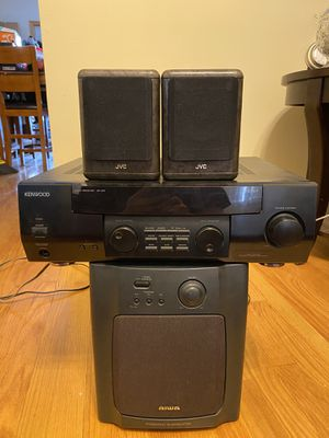 Kenwood home theater with subwoofer for Sale in Aurora, IL