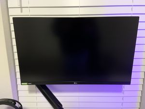 LG 27GL850-B 27 Inch Ultragear QHD Nano IPS 1ms NVIDIA G-Sync Compatible Gaming Monitor for Sale in Pasadena, TX
