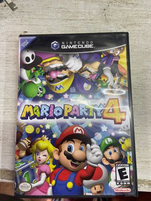 Mario party 4 GameCube for Sale in Port Richey, FL