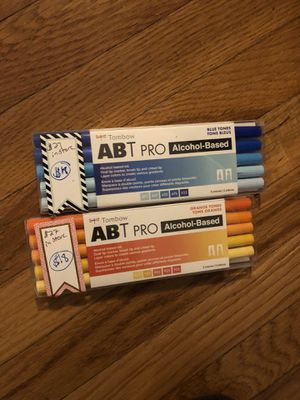 ABT Tombow Pro now half off store price new! for Sale in Columbia, CT