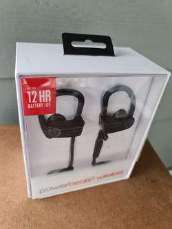 Beats by Dr. Dre - Powerbeats 3 Wireless - Black for Sale in Snohomish,  WA