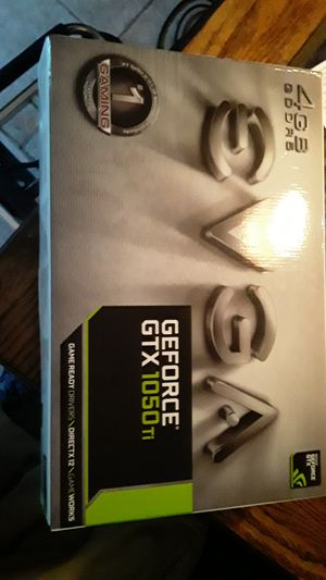 GeForce GTX 1050 TI graphics card for Sale in NEW PRT RCHY, FL