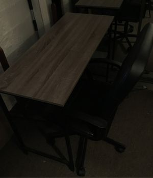 Desk and chair for Sale in Belmont, MA