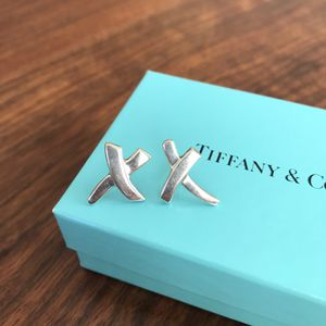 Tiffany & Co Paloma Picasso X Silver Earrings for Sale in Washington, DC