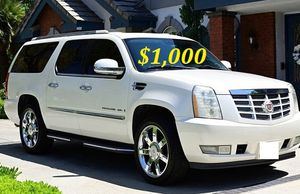 $1.OOO I'm selling urgently 2OO8 Cadillac Escalade SUV V8. for Sale in Gulfport, FL