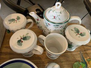 Christmas tea set for Sale in Menan, ID