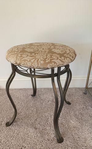 Make up/vanity stool/bathroom stool for Sale in Fairfax Station, VA