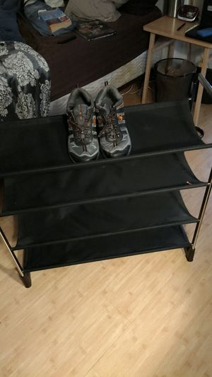 4 tier display/ storage rack shoes, hats etc for Sale in Lutz, FL