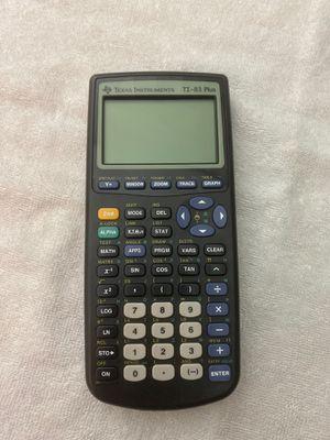 Texas Instruments TI-83 Plus calculator for Sale in Newport News, VA
