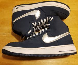 "Nike Air Force One ""Midnight Navy/Silver"" Sz 11 for Sale in Phoenix, AZ"
