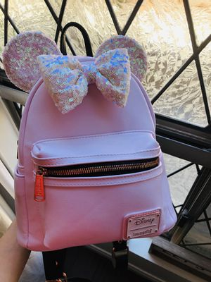 Disney Loungefly Pink Irridescent for Sale in Pasadena, CA
