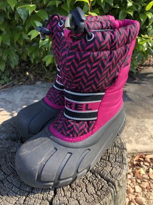 kids Snow shoes muddy puddle shoe size 12 for Sale in Encinitas, CA