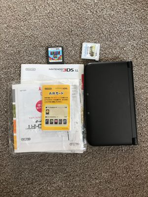 nintendo 3ds LL with some games for Sale in Cambridge, MA