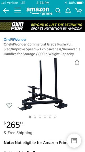 Workout sled for Sale in Willowbrook, IL