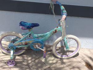 Disney Frozen 16-inch bicycle for Sale in Jupiter, FL
