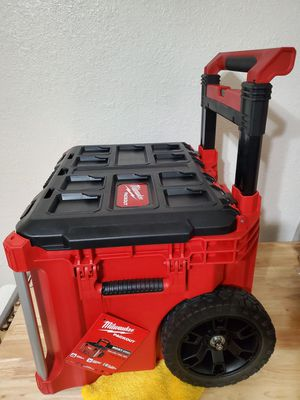 $100 New, Milwaukee Packout roller box for Sale in Henderson, NV