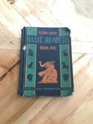 Elson-Gray Basic Readers Book One for Sale in Washington, IL