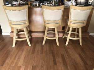 3 Bar Stools for 120 for Sale in Santa Clara, CA