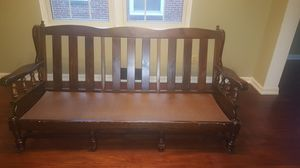 Handmade wooden couch for Sale in North College Hill, OH