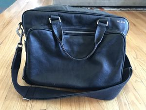 Jack Spade Black Leather Messenger Bag for Sale in Anaheim, CA