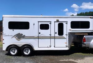 1998 Sundowner Sunlite - 2 horse trailer for Sale in Duvall, WA