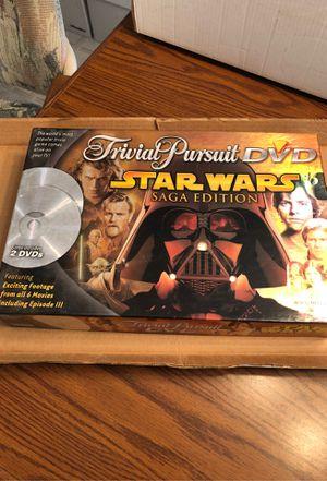 Star Wars DVD Trivial Pursuit Saga Edition Board Game for Sale in Philadelphia, PA