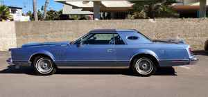 Classic 1979 Lincoln Continental Mark V for Sale in San Diego, CA