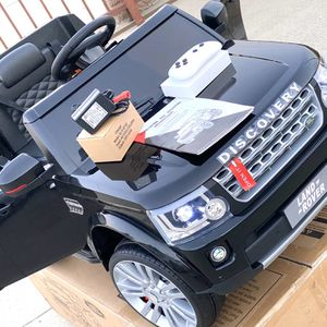 BRAND NEW Land Rover Discovery 4 SUV 12volt Remote Control Model Electric Kid Ride On Car Power Wheels come with FM RADIO for Sale in Anaheim, CA